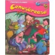 Cenusareasa - Povesti clasice cu 6 puzzle din 6 piese