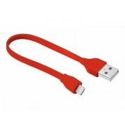 CABLE PLANO USB LIGHTNING 20 CM RED URBAN REVOLT