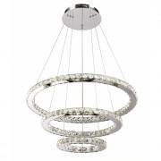 Kosiluz Lámpara de techo LED - cristal 3 anillos - Oslo