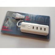 Мултифункционално USB зарядно устройство за телефони, теблети и др. устройства 4в1