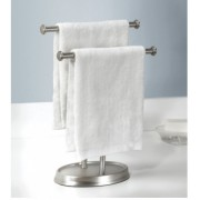 Palm Double Towel Stand