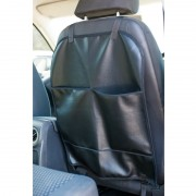 Vinyl Back Seat Protector with Pockets