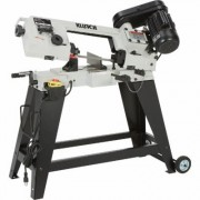 Klutch Horizontal/Vertical Metal Cutting Band Saw - 4 1/2 Inch x 6 Inch, 3/4 HP, 120V