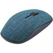 Безжична оптична мишка RAPOO 3510 Plus, синя, с покритие от плат, RAPOO-17878