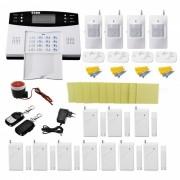 Sistema de alarma de seguridad contra robo de casa con sensor de deteccion kit