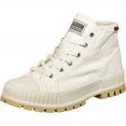Palladium Pallashock Mid OG Schuhe weiß beige Gr. 36,0
