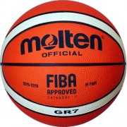molten Basketball BGR7-OI (Indoor/Outdoor) - Orange/Ivory | 3