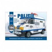 Set cuburi constructie MomKi Vehicul interventie politie 194 piese