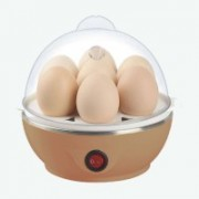 Gjshop Electric Egg Boiler Stainless Steel Electric 7 Egg Boiler with Poacher and Steamer Cooker Egg Cooker (7 Eggs) Egg Boiler 3282 Egg Cooker(Multicolor, 7 Eggs)