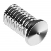 Goujons de soudage - M5 - 10 mm - Acier inoxydable - 250 pièces