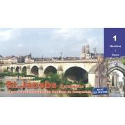 Fietsgids St. Jacobsfietsroute, deel 1 Haarlem - Tours (Santiago de Compostela - Sint Jacobsroute) | Pirola
