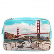 Y Not? Beauty Case Rettangolare Y NOT L-306 Golden Gate