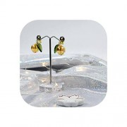 pursuit-of-self arete de vidrio con diseño de tocado tradicional japonés, A