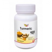 Biotrex Turmeric Pure Herbal Supplement - 400mg Increases the Anti-oxidant Capacity of the body (60 Capsules)