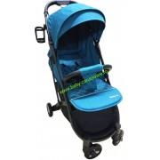 Cărucior sport ultracompact Baby Care S 600 Verde turcuaz