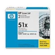 HP 51X Black Dual Pack LaserJet Toner Cartridge (Q7551XD)