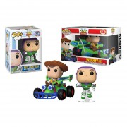 Buzz ligtyear y woody with rc Funko pop