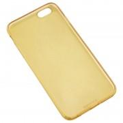 Husa APPLE iPhone 6 / 6S - Ultra Slim (Auriu Transparent)