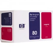 HP 80 ( C4847A ) Kасета цветна No.80, 350ml (DesignJet 1050/1055CM), Magenta