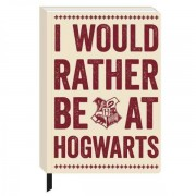 Half Moon Bay Harry Potter - Hogwarts Slogan A5 Notebook