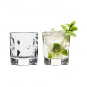 Sagaform set van 2 likeur - water glazen klein