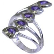 Riyo Amethyst Silver Queen Jewellery Silver 925 Ring Sz 6.5 Srame6.5-2026