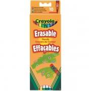 Kredki ołówkowe ścierale z gumkami Crayola 10 szt.