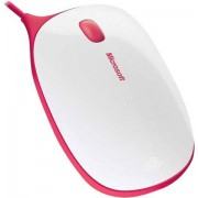 Microsoft Express Wired Mouse - Rojo, B
