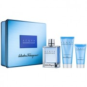 Salvatore Ferragamo Acqua Essenziale lote de regalo I. eau de toilette 100 ml + bálsamo after shave 50 ml + gel de ducha 100 ml
