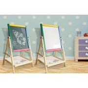 Kids' 2-in-1 Easel Drawing Board