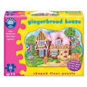 Puzzle De Podea Casuta De Turta Dulce (35 Piese) Gingerbread House