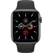Apple Watch Series 5 40mm (GPS + Cellular) Aluminium Case Grey Sport Band Negru