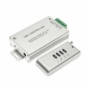 NO BRAND Controller radio per strisce led rgb con telecomando 4ch