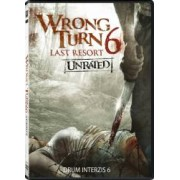 Wrong Turn 6 Last Resort DVD 2014