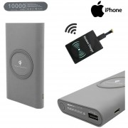 Cargador Inalambrico Portatil Usb 10.000 Mah Iphone