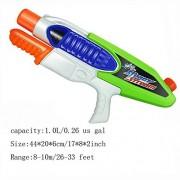 HomDSim Ultra-large Capacity Water Gun Squirt Gun Blaster Toy Soaker For summer Best Fun Game Happy Kid Children Long Range Model F