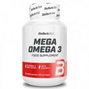 BioTech USA Mega Omega-3 gélkapszula - 90db