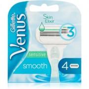 Gillette Venus Smooth Sensitive recambios de cuchillas 4 uds 4 ud