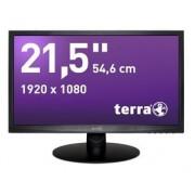 """Wortmann AG Terra 2212W DVI Greenline Plus monitor piatto per PC 54,6 cm (21.5"""") Full HD LED Nero"""
