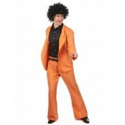 Disfraz disco naranja adulto M / L