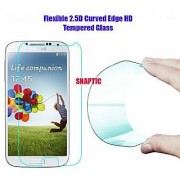 Snaptic 03MM Curved Edge HD Flexible Tempered Glass for Oppo Mirror 5