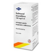 Ibsa Farmaceutici Italia Srl Solmucol Mucolitico 100 Mg/5 Ml Sciroppo Gusto Tropicale E Albicocca Flacone Da 180 Ml