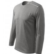 ADLER Long Sleeve Unisex triko 11212 tmavě šedý melír L