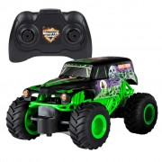Monster Jam Truck Grave Digger with RC 1:24