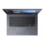 "ASUS VivoBook Flip TP412UA-EC183T Pentium Gold-4415U 14.0"" FHD Touch UMA 4GB 128GB SSD WL Cam Win10 CS šedý"