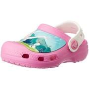 Sandale Crocs fetite Frozen roz