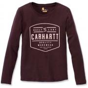 Carhartt Lockhart Dam långärmad skjorta Röd L
