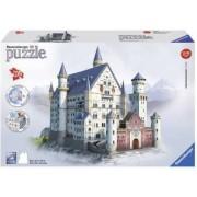 Puzzle 3D Castelul Neuschwanstein 216 Piese.Piesele sunt numerotate pe spate