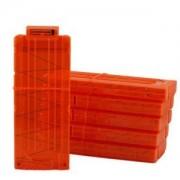 Tradico® TradicoBrand New Orange 12 Dart Quick Reload Clip System Darts Neu Nerf N-Strike Blaster Toy Gift