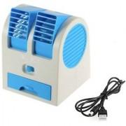 Mini USB Fragrance Air Cooling Fan Portable Desktop Air Conditioner Mini Air Cooler Mix Colour PowerCode-C43